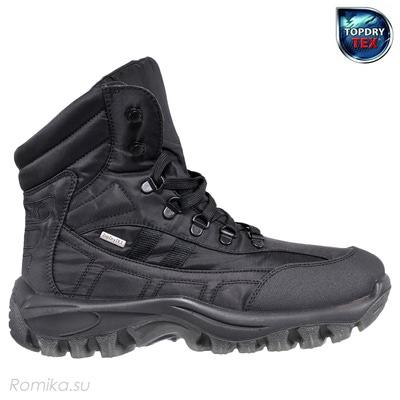 Зимние ботинки Yukon 01, цвет Черный (фото, вид 1)