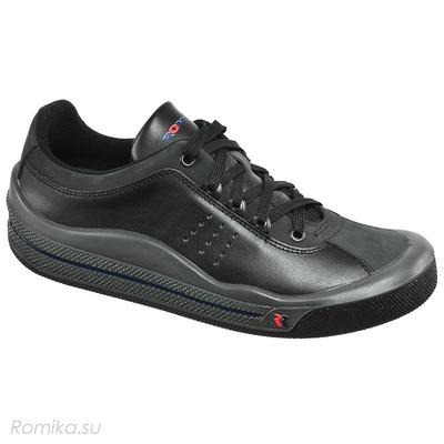 Кроссовки Tennis Master 201 черные, цвет Schwarz / Черный (фото, вид 1)