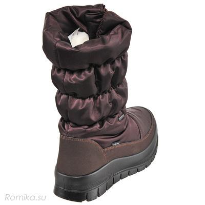 Зимние сапоги Vista 34002, цвет Dark Brown (фото, вид 2)