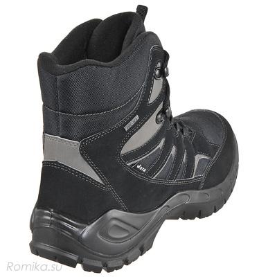 Зимние ботинки Vista 96043, цвет Schwarz (фото, вид 3)