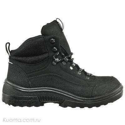 Зимние ботинки Walker Pro High Teddy Kuoma, цвет Black (фото, вид 1)