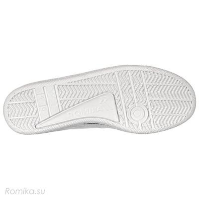 Кроссовки Tennis Master 204, цвет Weiss / Белый (фото, вид 3)