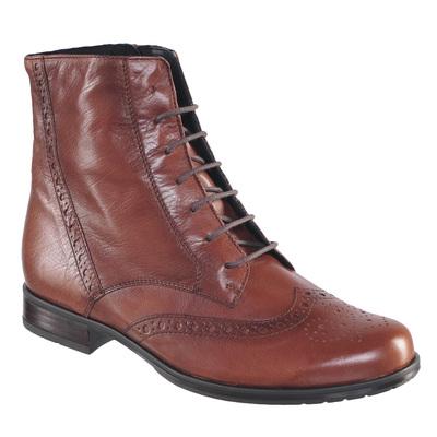 Ботинки осенние P60183, цвет Cognac (фото, вид 1)