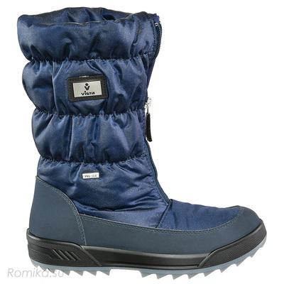 Зимние сапоги Vista 31322, цвет D-Blau Glitter (фото, вид 1)