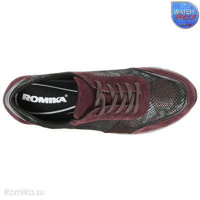 Сникерсы женские Tabea 08 Romika, цвет Purple-kombi (фото, вид 3)
