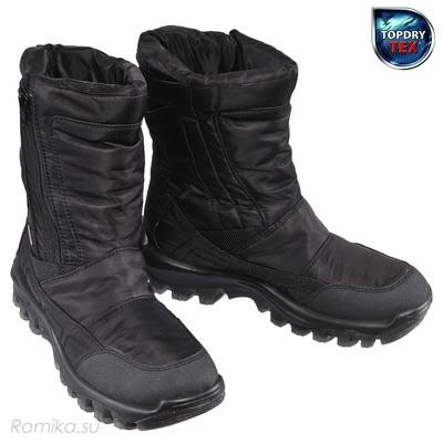 Зимние сапоги Yukon 02, цвет Черный (фото)