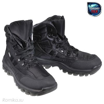Зимние ботинки Yukon 01, цвет Черный (фото)