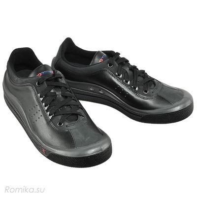 Кроссовки Tennis Master 201 черные, цвет Schwarz / Черный (фото)