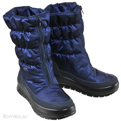 Зимние сапоги Vista 34002, цвет Dark Blau (фото)