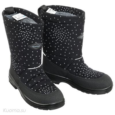 Зимние сапоги Lady Kuoma, цвет Black Galaxy (фото)