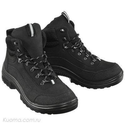 Зимние ботинки Walker Pro High Teddy, цвет Black (фото)