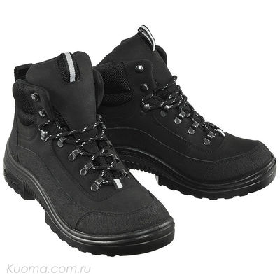 Зимние ботинки Walker Pro High Teddy Kuoma, цвет Black (фото)