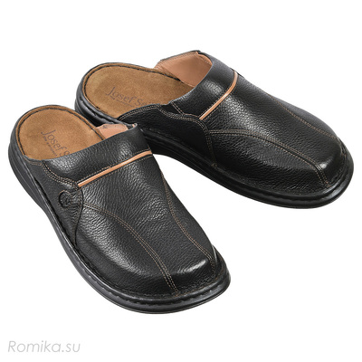 Слиперы Klaus, цвет Black-Combi (фото)