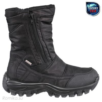 Зимние сапоги Yukon 02, цвет Черный (фото, вид 1)