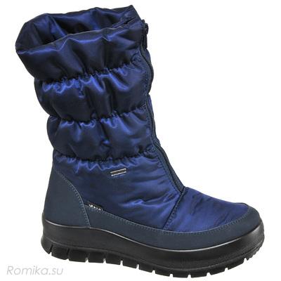 Зимние сапоги Vista 34002, цвет Dark Blau (фото, вид 1)
