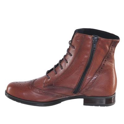 Ботинки осенние P60183, цвет Cognac (фото, вид 2)