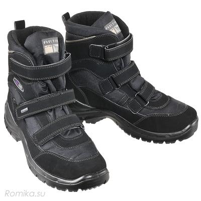 Зимние ботинки Vista 96030, цвет Schwarz (фото)