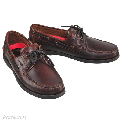 Топсайдеры Wallis, цвет Brown Oiled Calf